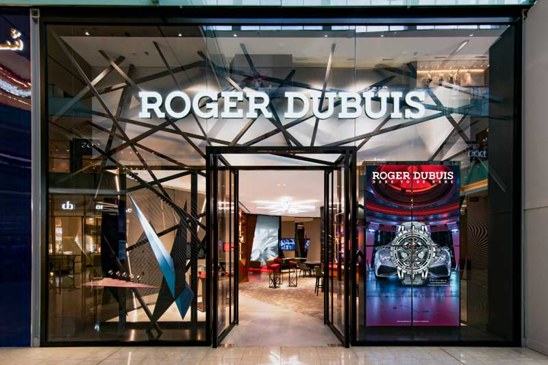 boutique Roger Dubuis Dubai Mall