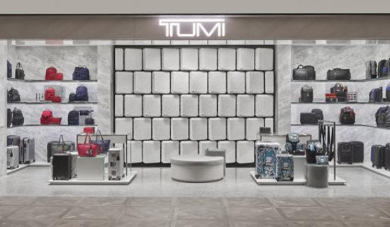 Progetto Boutique Tumi  Hong Kong.