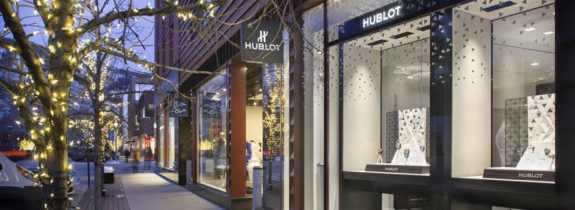Boutique HUBLOT Aspen.