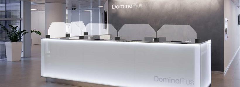DominoPlus, il primo sistema a pannelli modulari componibili anti-contagio in PET.