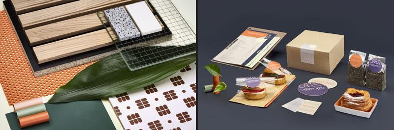 Ogimomo a new cake bistrot designed by Liquidostudio