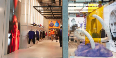 Napapijri reveals the first of its new concept stores in Dubai.