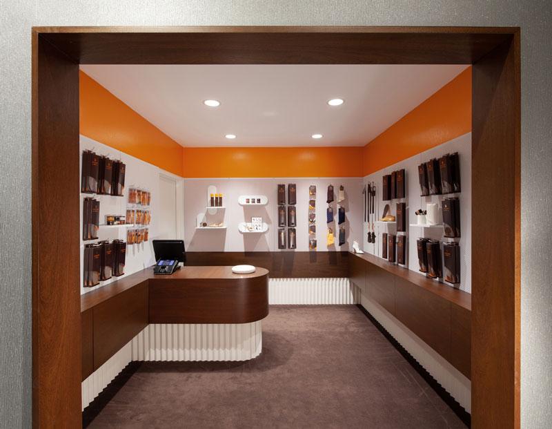 Sergio Mannino Studio designed the new Leather SPA store