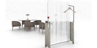 Convivium – Sistema di protezione da Coronavirus in cristallo per ristoranti e lounge.