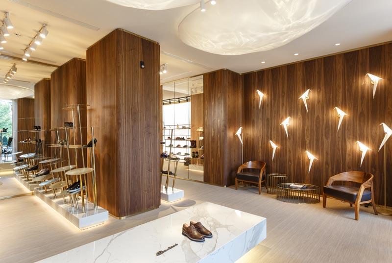 MONO ARCHITECTS designed the Shabelski boutique in Dnepr