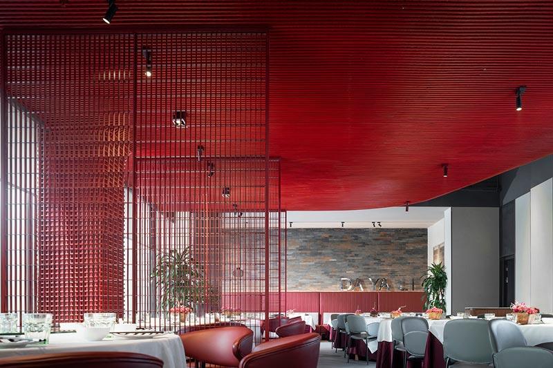 progetto ristorante Da Ya Li Roast Duck by Wu Wei architect, Studio IN • X
