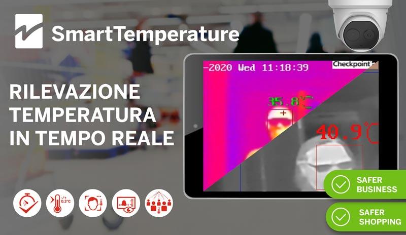 SmartTemperature di Checkpoint per la misurazione esatta della temperatura corporea