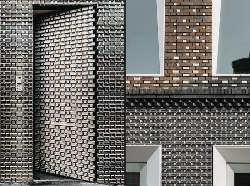UNStudio - The Brick Pixelation Facade