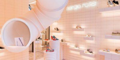 Wonder Machine: a Milano il nuovo pop-up di Sergio Rossi.