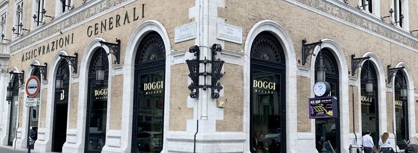 EDARES advisor di Generali Italia nella locazione a Roma di un nuovo flagship store Boggi Milano.