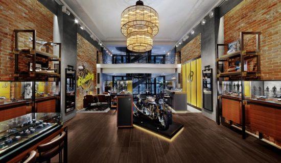 Boutique BREITLING Londra.