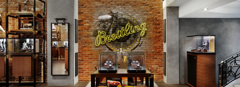 BREITLING Townhouse in London.