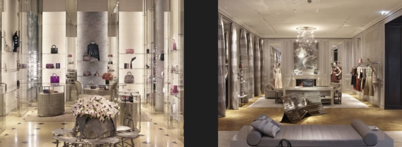 Riapre la boutique CHRISTIAN DIOR di Milano in via Montenapoleone.