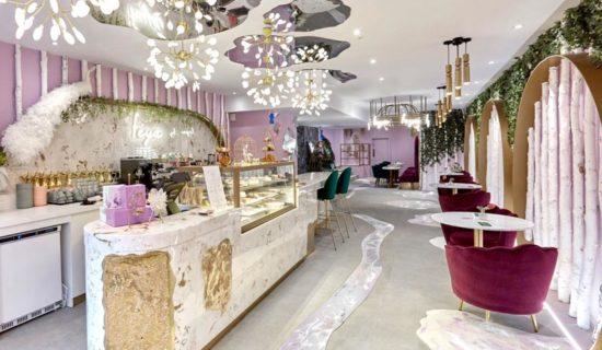 Interior design Caffe FEYA Londra.