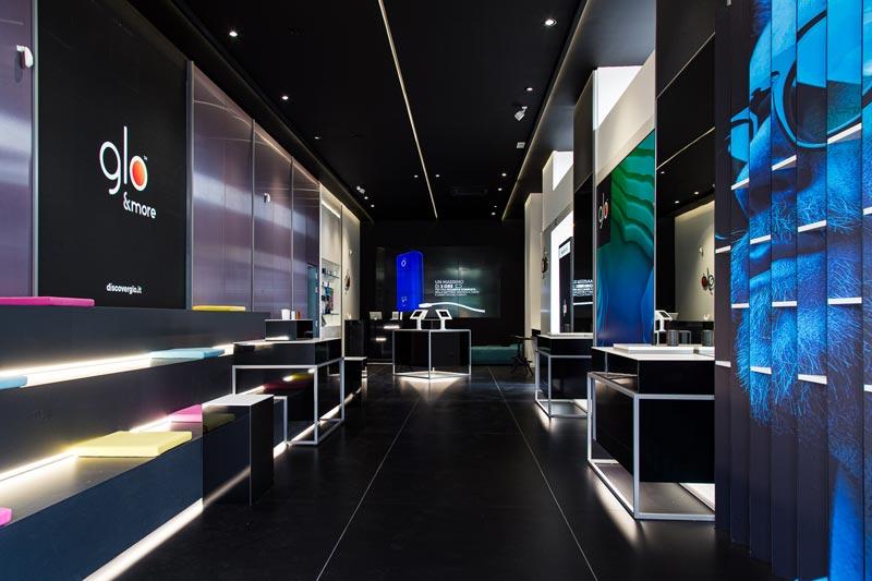 Lo studio Iosa Ghini Associati cura il restyling del glo™ flagship store