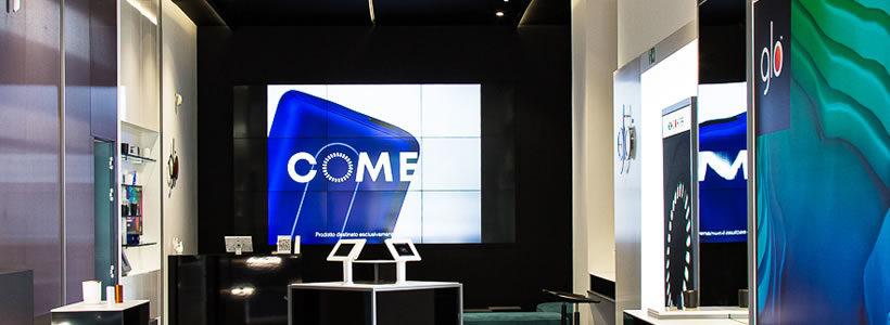 Lo studio Iosa Ghini Associati cura il restyling del glo™ flagship store.