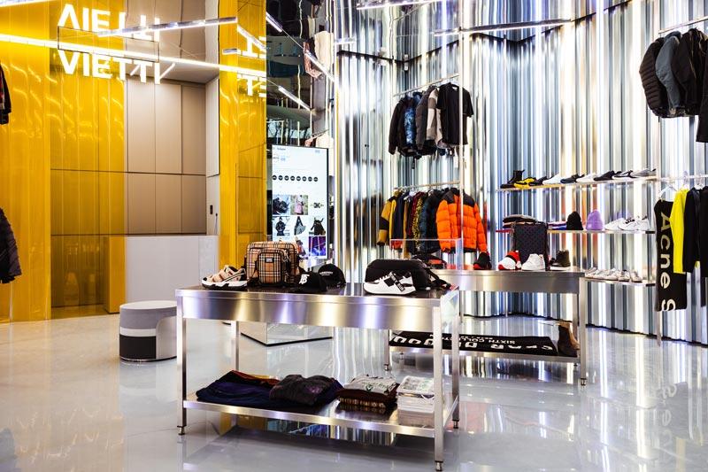 VIETTI Concept Store Arona designed by Mihub Studio