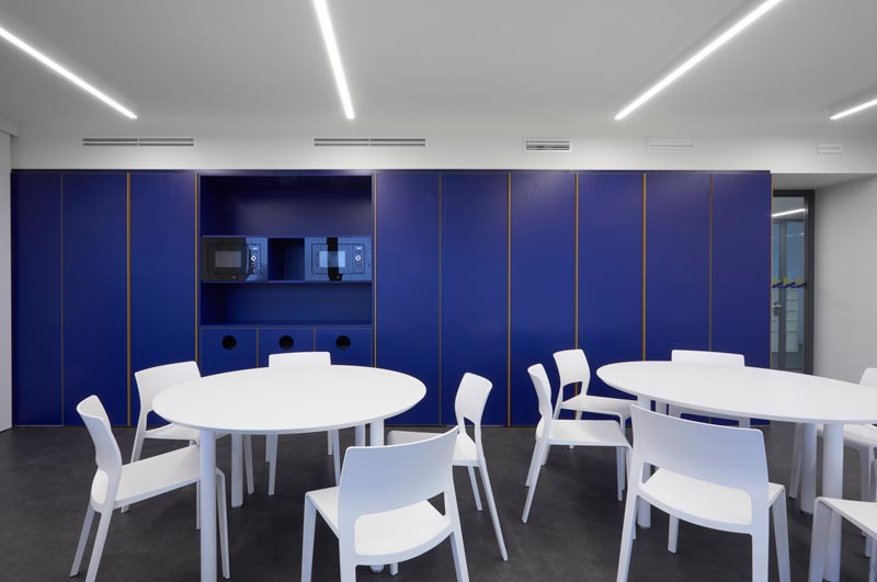progetto per l'Headquarter di MBCredit Solution a Milano