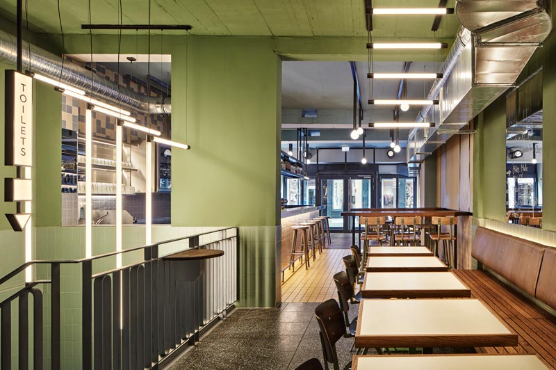 Studio Modijefsky designed Otto's Burger Restaurant and Bar