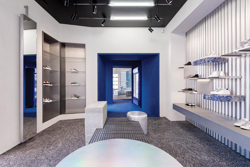 Piuarch, gli architetti della moda, scelti dal brand P448 per progettare il primo store a Milano