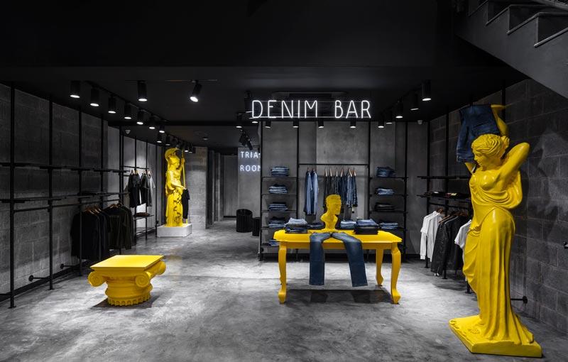 Restore Design designed the WROGN Flagship Store in New Delhi