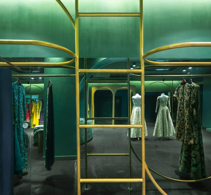 The Sacramento Vault aka Abdul Halder Flagship store designed by Pantone Collective Design Studio