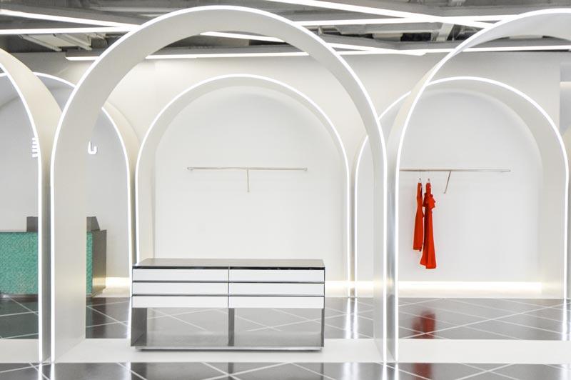 TGY store designed by Ramoprimo Studio