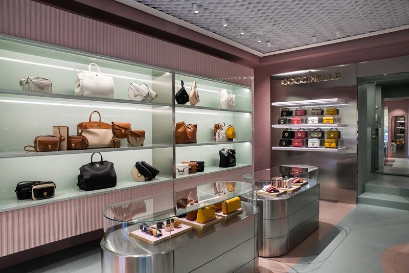 nuovo concept store Coccinelle a Verona