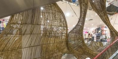 Installazione artistica BIRD NEST  Ho Chi Minh City .