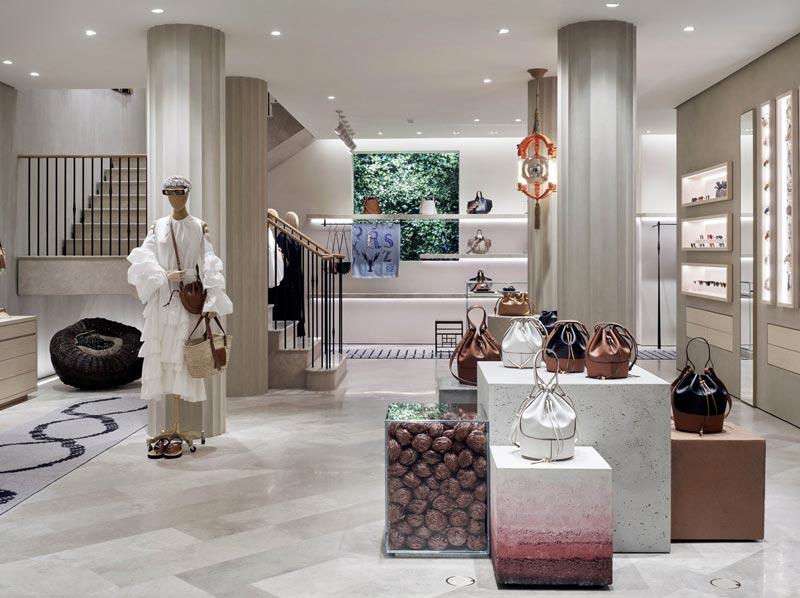 boutique Loewe di Monaco di Baviera