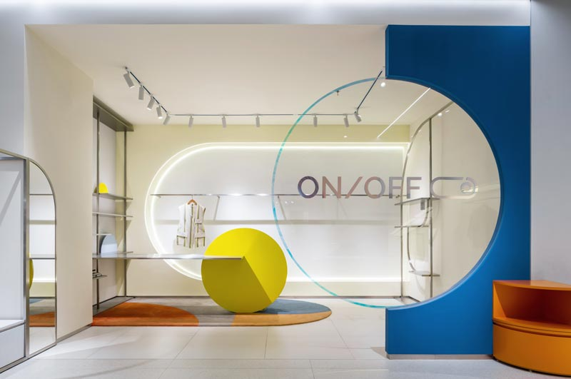 Progetto Multibrand Store ON/OFF Shanghai