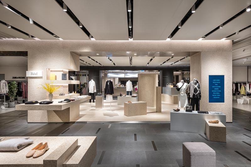 Kokaistudios interior design project for Réel