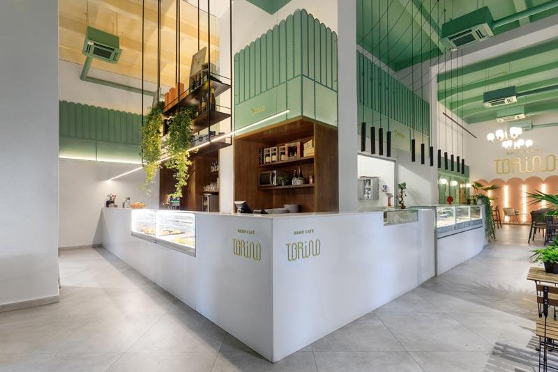 Gran Caffè Torino Palermo signed by the Puccio Collodoro Architetti Studio