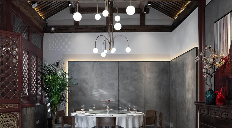 Huda Restaurant invited designer WU Wei to preside over the renovation of a Siheyuan in the core area of Beijing