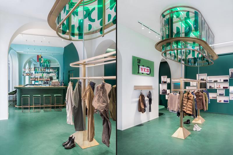 Slowear18 concept store