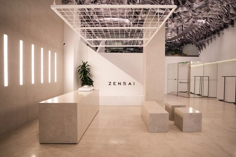 ZENSAI flagship store in Beverly Hills