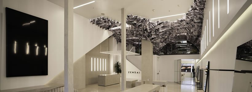 ZENSAI flagship store in Beverly Hills.