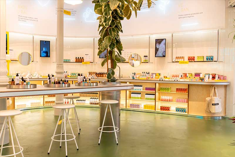 FRESHLY COSMETICS nuovo store a Madrid