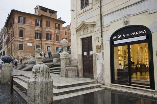Acqua di Parma negozio di Roma Piazza di Spagna