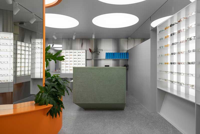 Facultative Works - Progetto Centro Ottico Optometrico P.Y.E. San Pietroburgo