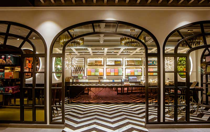 Anand Sweets designed by RMDK Architects