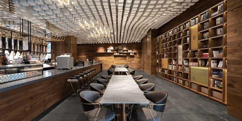 Tongrentang Zhima Health by  designer Wang Yong - Wuxiang Space Architecture Design (WUUX )