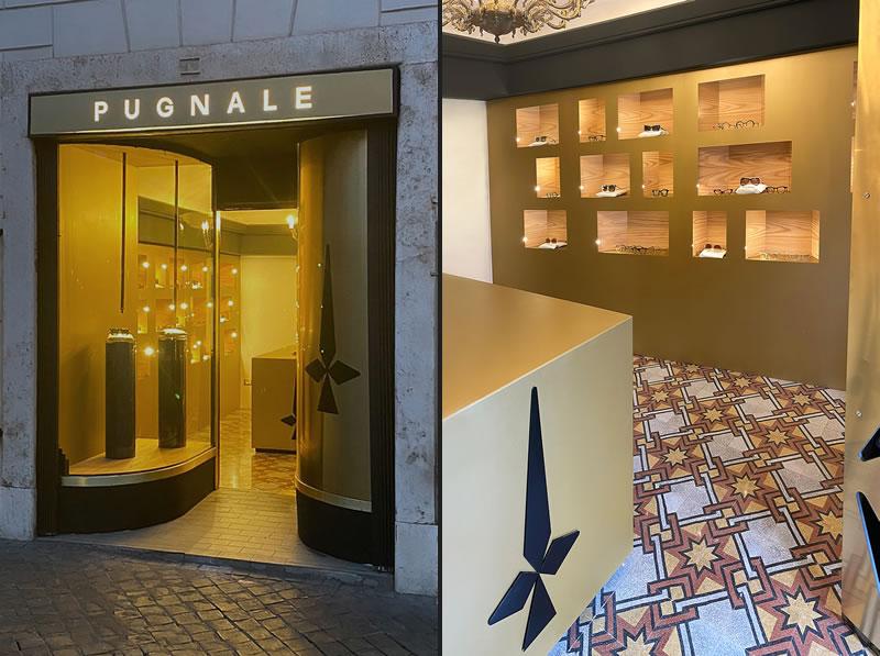 PUGNALE apre a Roma il suo primo flagship store