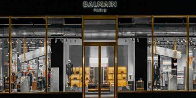 Balmain apre in Madison Avenue.