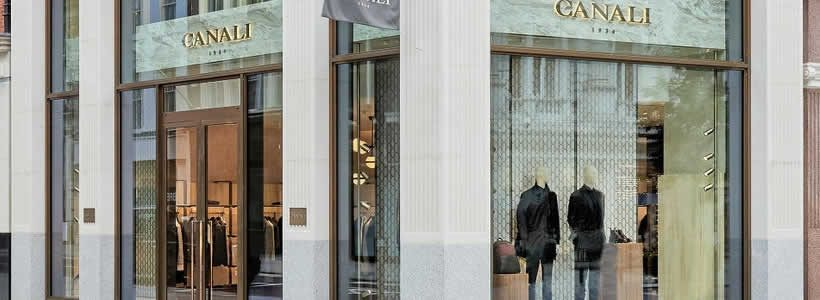 Canali apre un nuovo flagship store in New Bond Street.