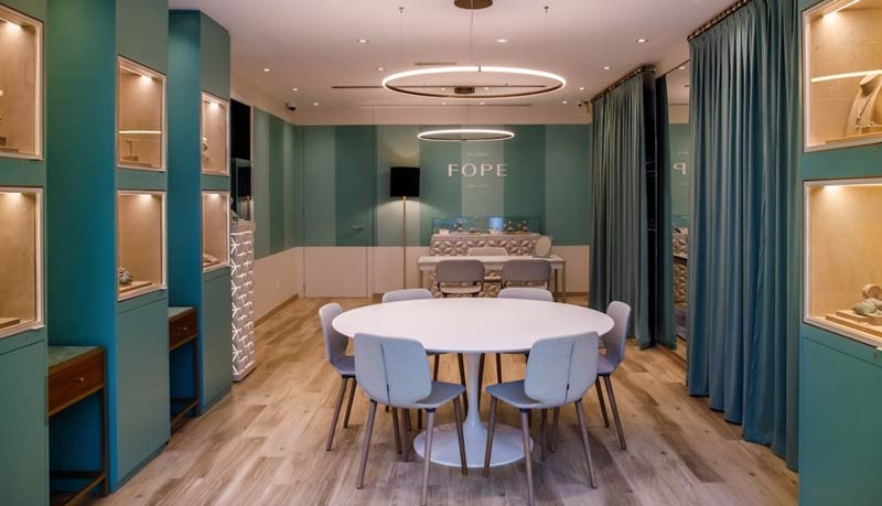 FOPE has launched the first-ever flagship boutique in Asia and has picked Kuala Lumpur