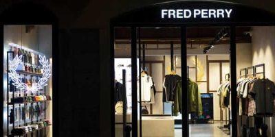 Monomarca FRED PERRY Milano.