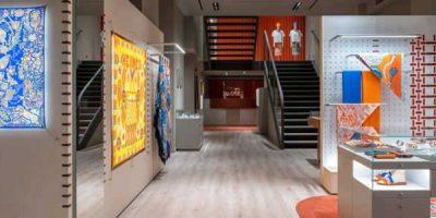 Hermès: un temporary store di 600 mq in via della Spiga a Milano.