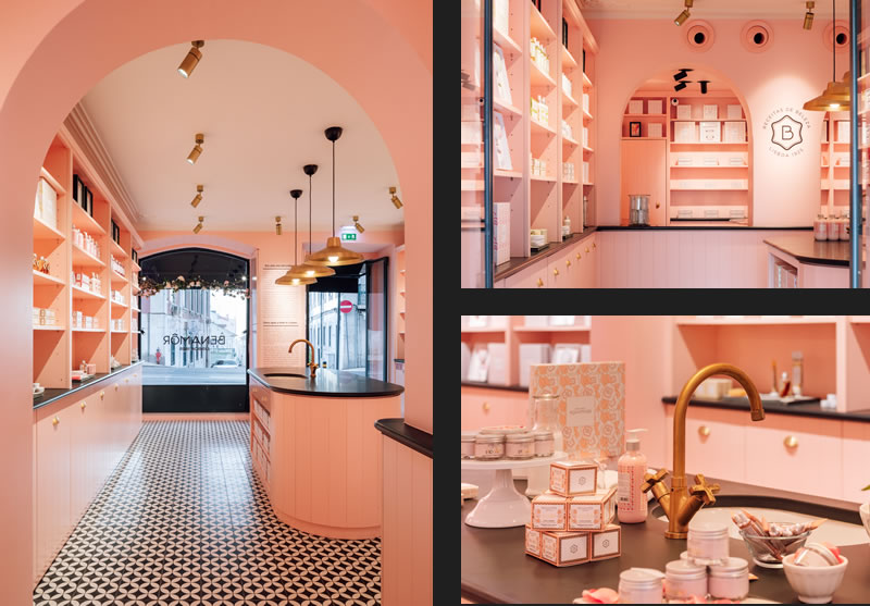 Benamôr Shop Lisbon designed by LADO Arquitectura e Design
