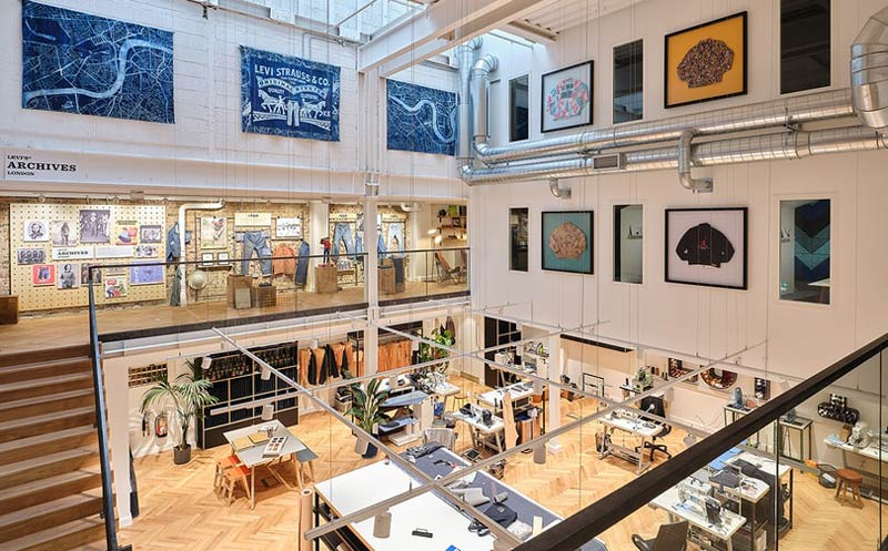 Levi's opens new concept store in Soho London